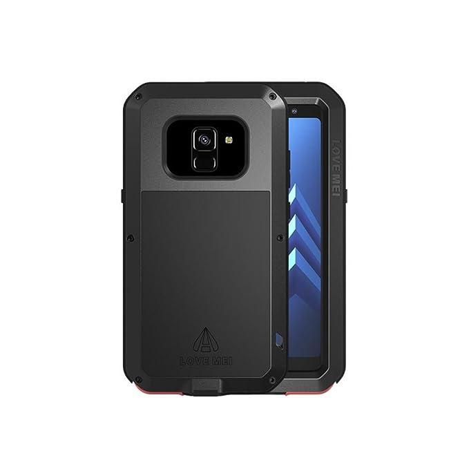 super popular 8bcc1 5b855 Amazon.com: Galaxy A8 Plus 2018 Case,Bpowe Galaxy A8+ Armor Tank ...