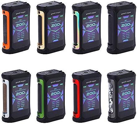 Cigarrillos electrónicos Geekvape Aegis X 200W TC Mod con pantalla OLED de 2.4 pulgadas y diseño a prueba de agua IP67 sin batería ni nicotina (Orange): Amazon.es: Salud y cuidado personal