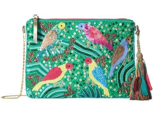 Betsey Johnson(ベッツィージョンソン) レディース 女性用 バッグ 鞄 ハンドバッグ クラッチ Poolside Pouches - Green [並行輸入品] B07HVKDGRV