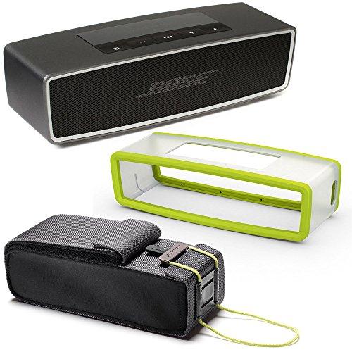 bose-soundlink-mini-ii-bluetooth-wireless-speaker-carbone-w-energy-green-soft-silicon-cover-travel-b