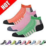 Tennis Socks Low Cut, Gmall Compression Jogging Running Walking Cushioned Socks