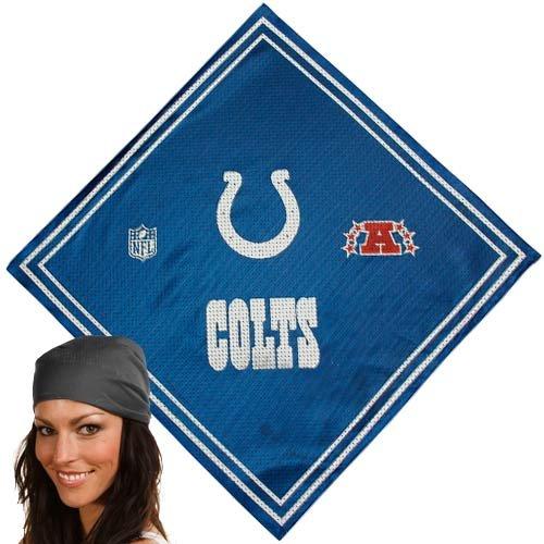 NFL Indianapolis Colts Royal Blue Jersey Bandana]()