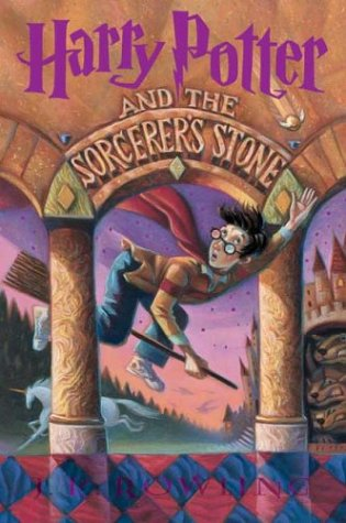 Harry Potter and the Sorcerer's Stone - Library Edition (All Harry Potter Books)