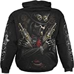 Spiral - Boys - STEAM Punk Bandit - Kids Hoody Black 6