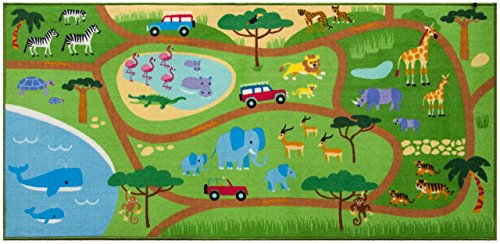 Olive Kids Safari Play Rug Toy, One Color, 80 x 39