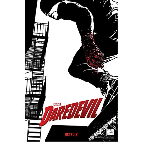Daredevil Promo poster Comic cover style (8 inch by 10 inch) PHOTOGRAPH TL