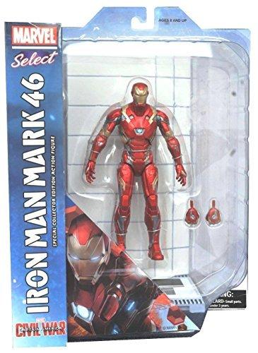Captain America Civil War: Iron Man Mark 46 Action Figure