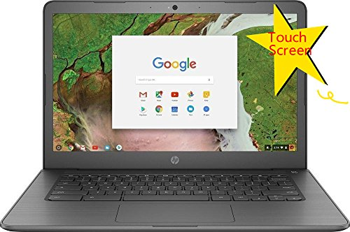 2018 HP Flagship Premium Business Chromebook | 14in HD (1366 x 768) Multitouch Screen | Intel Celeron N3350 up to 2.4GHz | 4GB Memory | 32GB SSD | Bluetooth | No Optical | Renewed ()