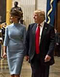 Inauguration of President Donald J. Trump, with First Lady Melania Trump. 8x10 Photo Print