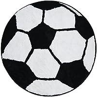 TCDBEST Area Rug Shag Kids Rug Cute Soft Soccer Rug 2'7''...