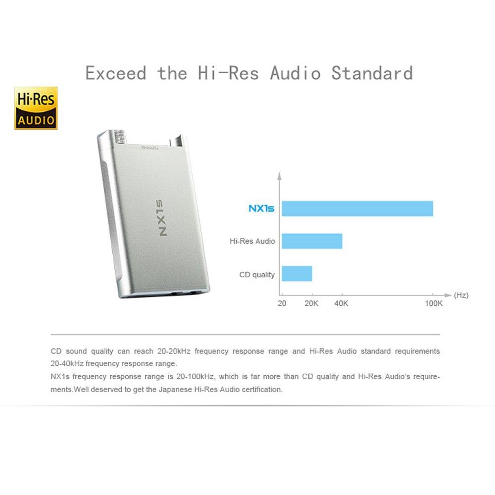 TOPPING NX1S Hi-Res Amplificador Auriculares Portátil Ultra delgado, Ganancia y Refuerzo de Graves Cambiar: Amazon.es: Electrónica