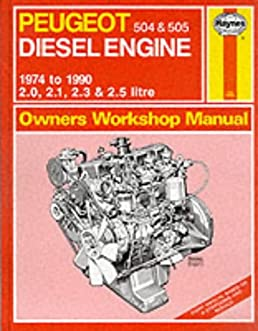 peugeot 504 and 505 diesel 1974 90 owner s workshop manual service rh amazon com BMW Workshop Manual BMW Workshop Manual