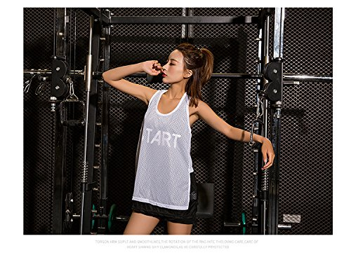 Verges Cover Dry T Maille White Veste Shirt Matin Fast Big Sans Top Female up Fitness shirt Manches Tank Zhudj Sports Respirante n0FxqfwcFU