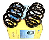 BMW (E46) REAR COIL SPRINGS (2) HVY DUTY (320i 323 325 328 330, xi) SUPLEX 06164 33536756974