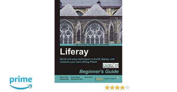 Liferay Beginners Guide
