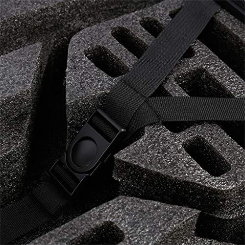 DDLmax Black ABS Hard Shell Backpack Case Bag for Hubsan H501S Quadcopter by DDLmax (Image #8)
