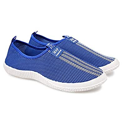 XZY Fashion Blue Flat For Women