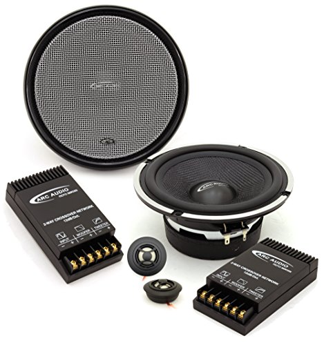 Moto 6 2   Arc Audio 6 5  90W Rms Motorcycle Component Speakers System