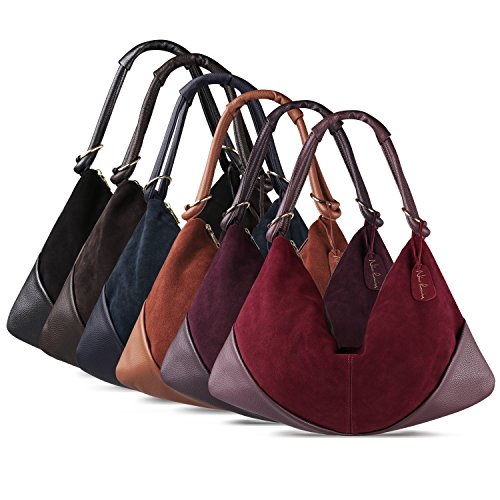 Women Suede Black Handle Leather Dumpling Handbag toZp0GipU1e Nico Large Bag Top Hobo Bag f0A6qZw
