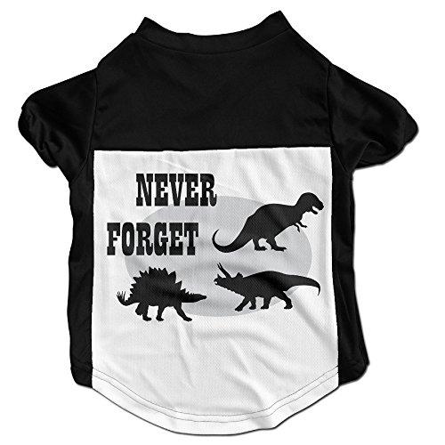 Dog Clothes Never Forget Dog Vest Apparel Beautiful Art 100% Polyester Fiber Dog Jackets Cheap Dog