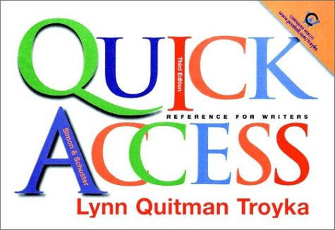 Simon & Schuster Quick Access with E-book Access Package