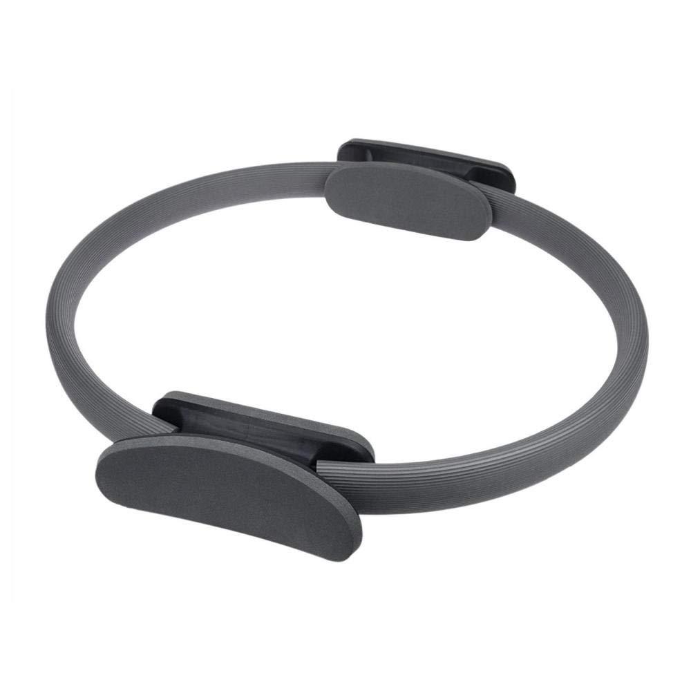 nouler Premium Power Resistance Full Body Toning Fitness Magic Circle Yoga Pants,Grey,One Size