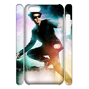 QSWHXN Customized 3D case Bruno Mars for iPhone 5C