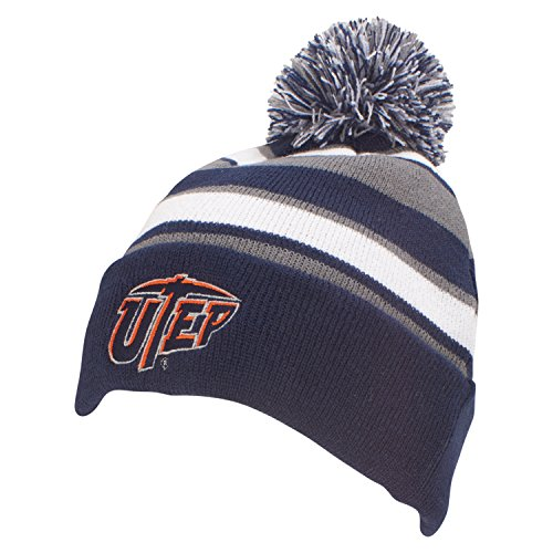 NCAA Texas El Paso Miners Comeback Beanie, One Size, - El Paso The Outlets Texas