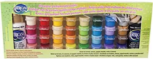 Deco Art Americana Opaco acrilico Valore Pack-34 Colore: Amazon.es ...