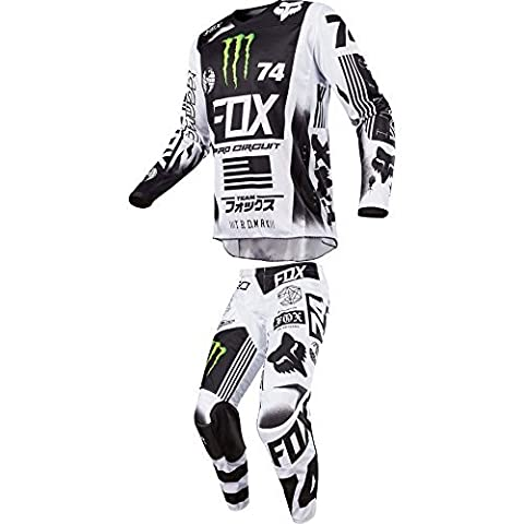 2017 Fox Racing 180 Monster/Pro Circuit MX Jersey and Pants Combo Men's Size LARGE/32W (Fox Jersey Mx)