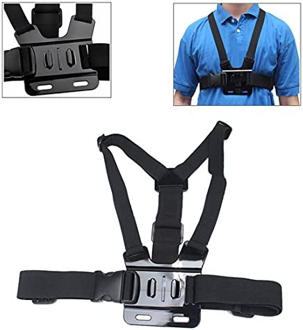 Adjustable Elastic Body Chest Harness Strap Compatible with GoPro Hero Cameras