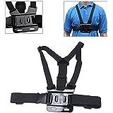 Phot-R Adjustable Elastic Body Shoulder Chest Harness Strap Belt Mount for GoPro HD Hero 4 3+ 3 2 1