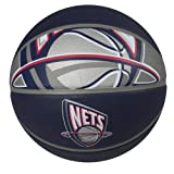 Spalding NBA New Jersey Nets Courtside Rubber Basketball