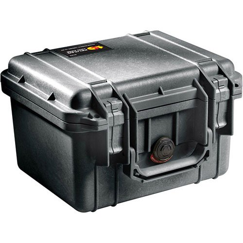 - Pelican 1300 No Foam Black Case (1300NF)