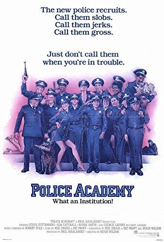 Police Academy Movie Poster