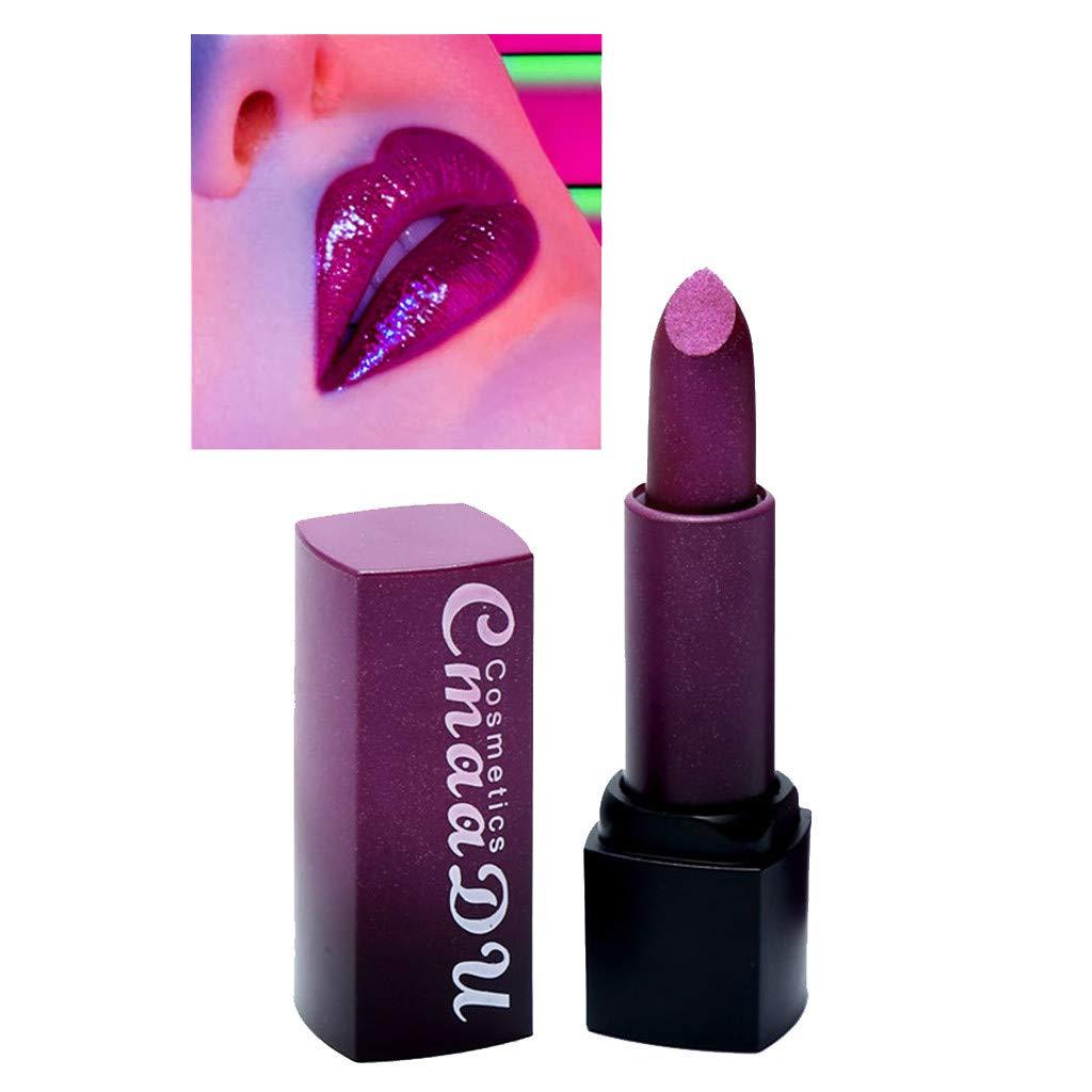 3PCS of 3 Colors Madly Matte Lipstick Non-Stick Cup Waterproof Lipgloss-Set A