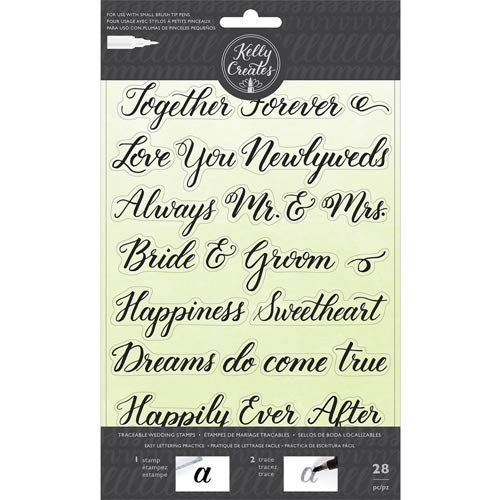 Kelly Creates Clear Stamps, Wedding