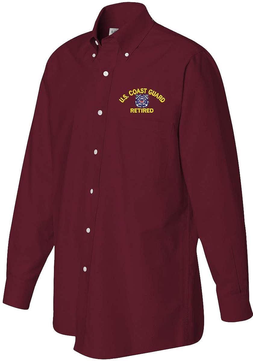 Coast Guard Retired Oxford Shirt U.S