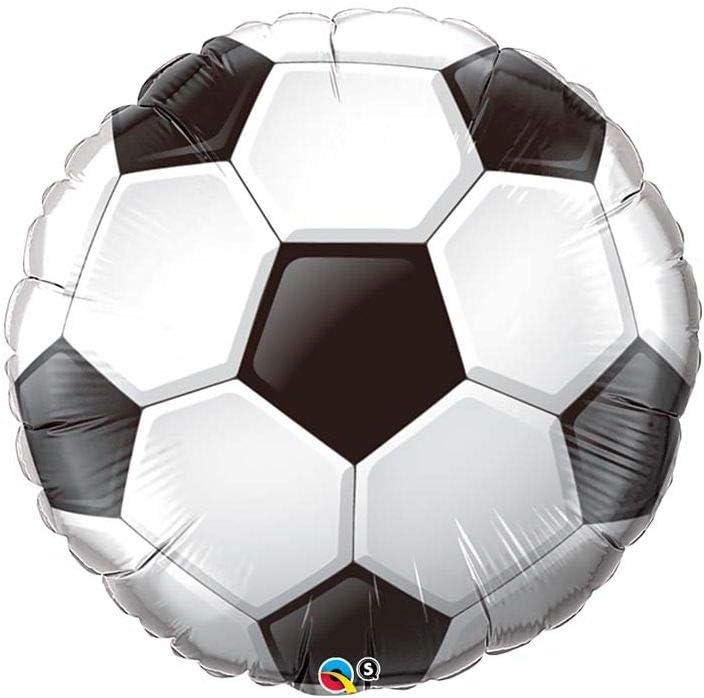 Globo Pelota Futbol - Redondo 91cm Foil Poliamida - Q21529: Amazon ...