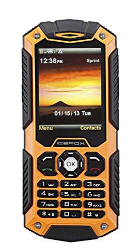 IceFox Dual Sim Outdoor Handy,2,4 Zoll Display,IP68 Wasserdicht,Stoßfest, Rugged Handy Ohne Vertrag mit Lautem Lautsprecher und Fahrradlicht