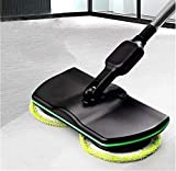Rechargeable Powered Floor Cleaner Scrubber Polisher Mop, Handheld Vacuum Floor and Carpet Tile Sweeper BySuper Maid