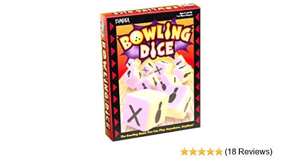 Amazon.com: Fundex Bowling Dice Game - Fundex 22729: Toys & Games