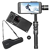 Hohem 3-Axis Gimbal Alluminum Stabilizer W/ Plate for Smartphone Up To 6