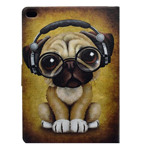 Magnetic LMAZWUFULM Headphones Fire 2017 PU Wears Closure Leat 7 with Cover Cover Bookstyle Stent Ultrathin Dog Function Foldable Amazon for 0 Leather Leather Inch Holster Little Pattern Dog Headphone 2015 of 7 O1trqOw