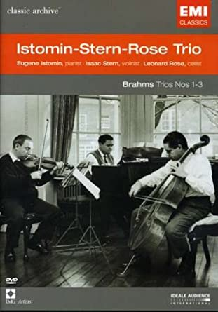 Image result for stern rose istomin brahms piano trios