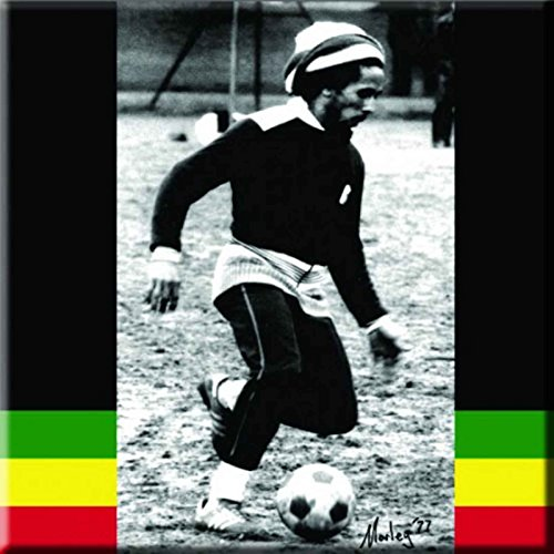 - Bob Marley Fridge Magnet Soccer Official 76Mm X 76Mm