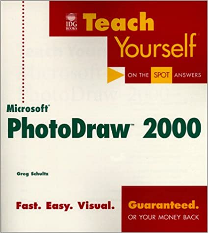 Book Teach Yourself® Microsoft® PhotoDraw® 2000
