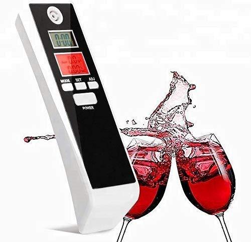 BerryKing Partydrive Alkohol-Tester Digital LCD Display Atemalkohol-Messgerä t Test Analyzer Detector Promille Alkoholmessgerä t Uhrzeit Alarm Timer. Keine Mundstü cke notwendig.