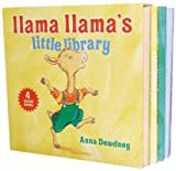img - for Llama Llama's Little Library( Llama Llama Wakey-Wake/Llama Llama Hoppity-Hop/Llama Llama Zippity-Zoom/Llama Llama Nighty-Night)[BOXED-LLAMA LLAMAS LI-4V-BOARD][Boxed Set] book / textbook / text book