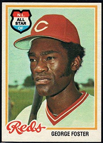 Baseball MLB 1978 Topps #500 George Foster Reds